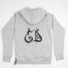 Sweatshirt GD Gothic con Cappuccio