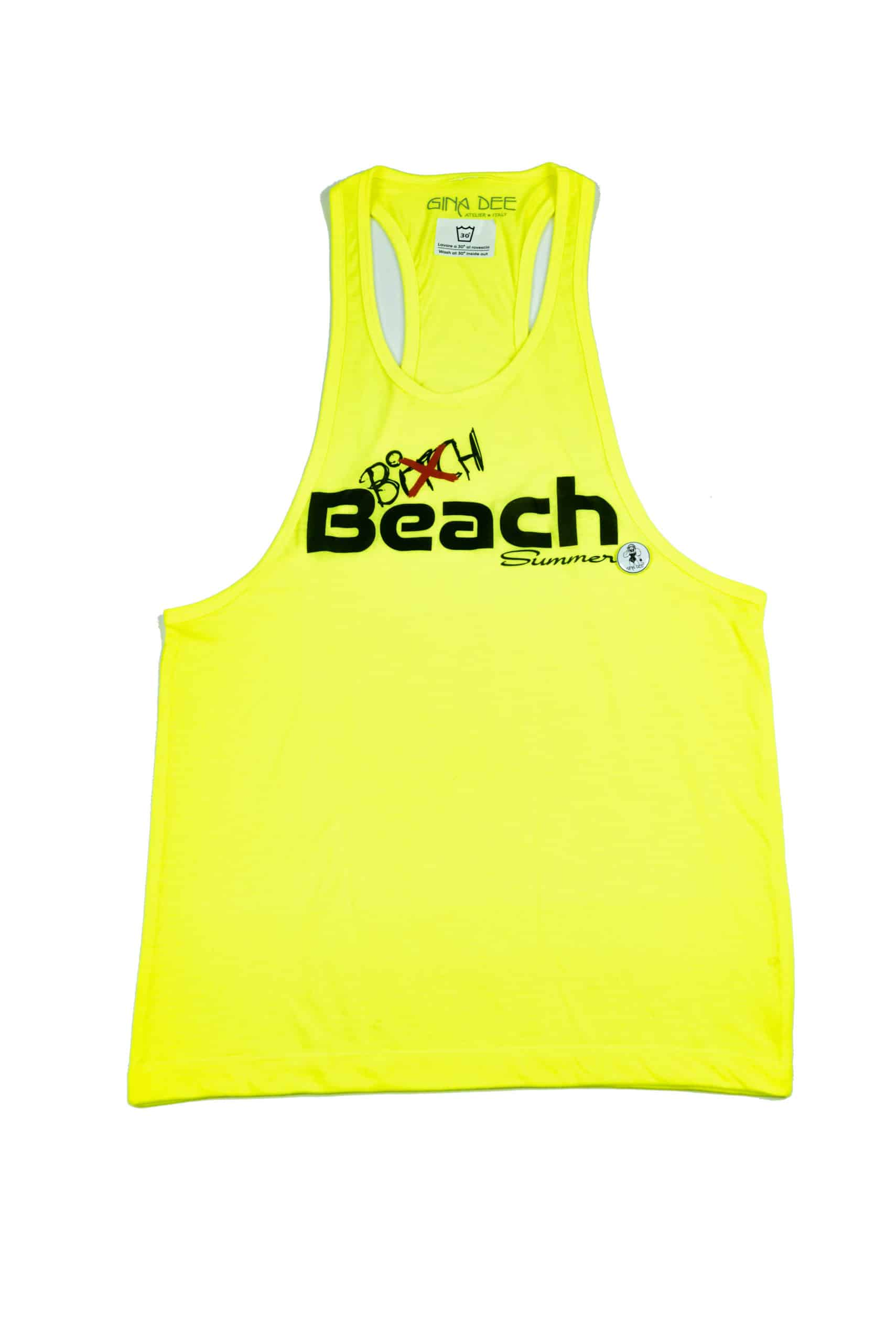 Tanktop Beach Yellow Gina Dee