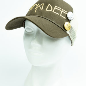 Cap Baseball Brown Gina Dee