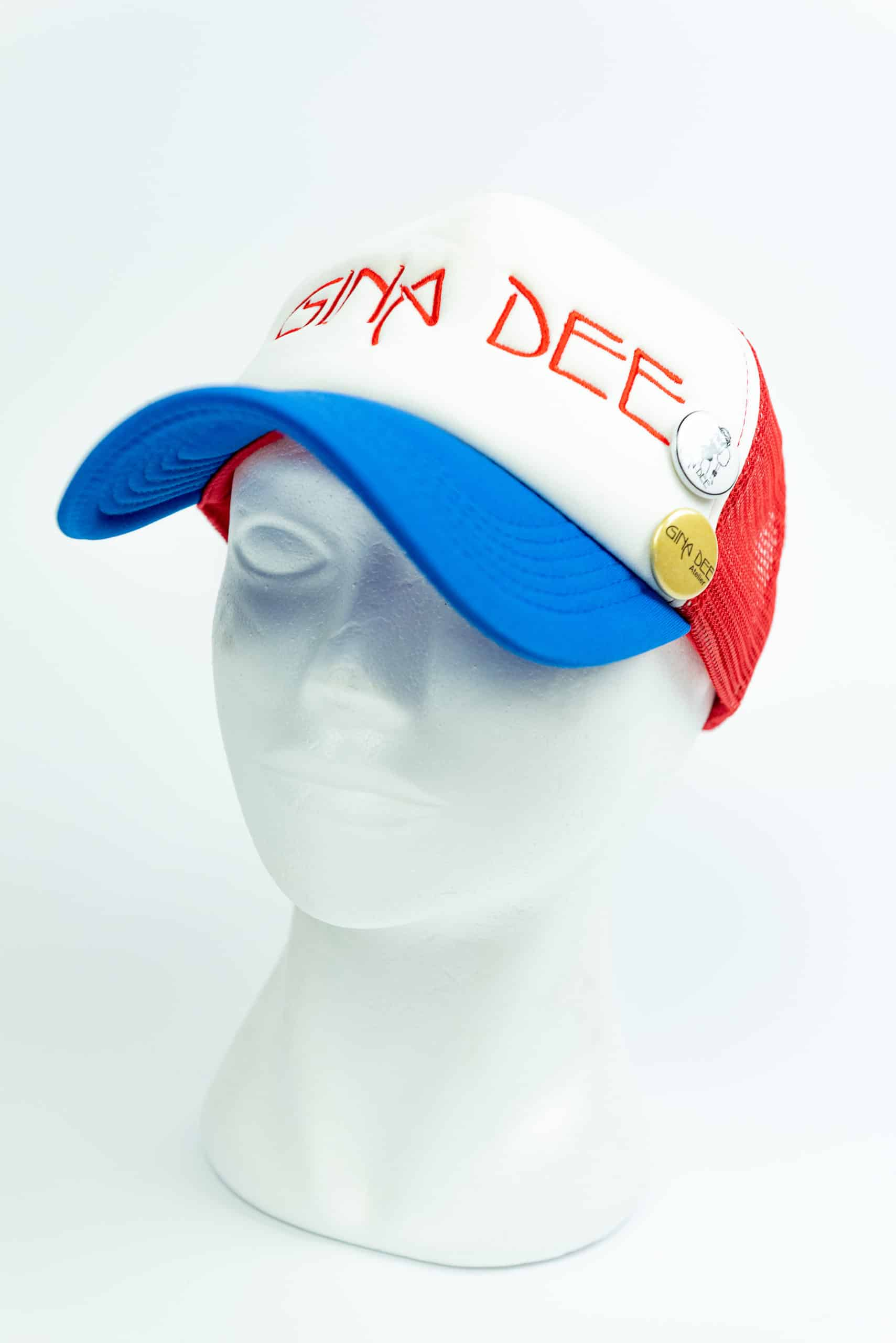 Cap Blue Bianco Rosso
