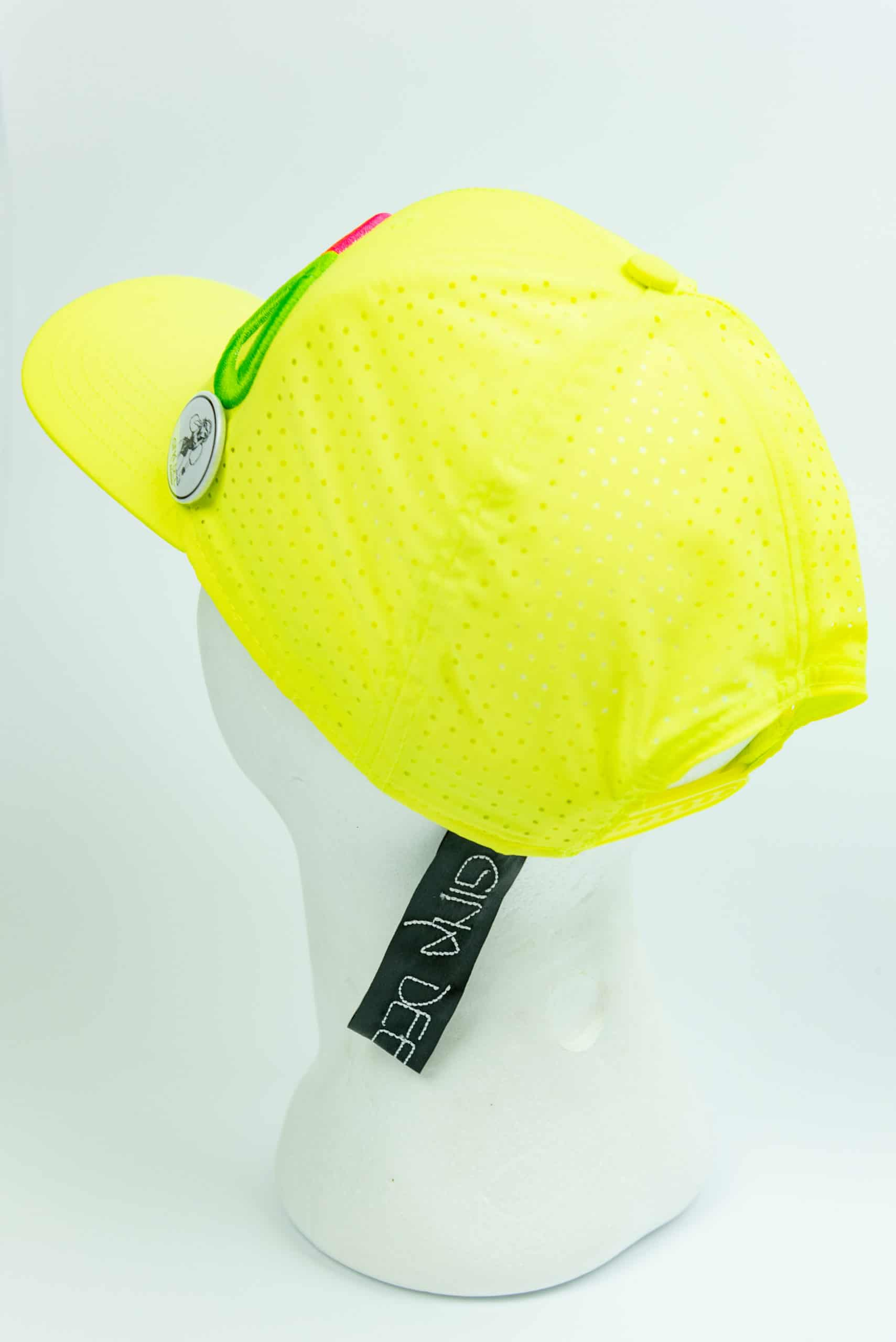 Cap Giallo Fluor Back