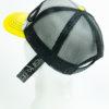 Cap Sport Giallo Nero Black